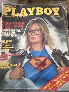 Australian Playboy Magazine August 1981 Been Stored Since New
