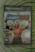 WWE SMACKDOWN VS RAW 2007 ps2 pal NUOVO