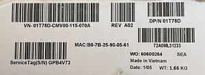 Dell WD19TB Latitude 180W Thunderbolt Display Port Docking Station New Sealed