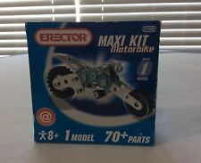Erector Maxi Kit Motor Bike 70pc Model age 8+