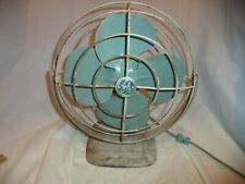 VINTAGE GE GENERAL ELECTRIC FAN F11A103. WORKS!