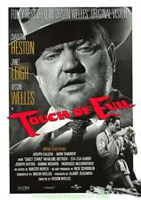 Touch Of Evil Movie Posterl R1998 Rolled 27x39 Charlton Heston Orson Welles