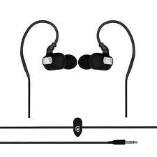 Urbanz esforzamos Correr Deportes Gancho Para La Oreja Auriculares Audífonos Ipod Iphone-Negro