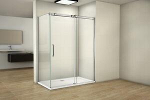 Duschabtrennung Duschkabine Schiebetür 8mm Nanobeschichtung Duschtür Duschwand