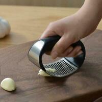 Steel Garlic Press Crusher Rocker Rocking Mincer Squeezer Kitchen Tool