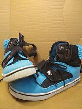 Vlado, Blue / Black Men's Atlas 2 High Top Sneakers Size 8