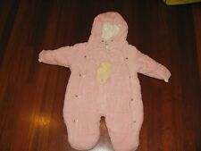 Classic Pooh Baby Winter Snowsuit Warm Fleece 9mo