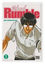 School Rumble 7 Jin Kobayashi Pika Manga