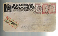 1922 Budapest Hungary cover to USA American Relief Administration