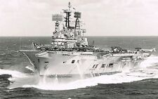 ROYAL NAVY CARRIERS OF YESTERYEAR - 40 PHOTOGRAPHS - HMS EAGLE, BULWARK, ARK etc