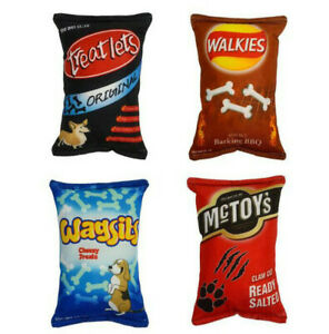 The Pet Store Rustling Crisp Packet Soft Dog Toys