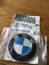 Genuine New BMW BONNET BADGE 51 76 7 288 752