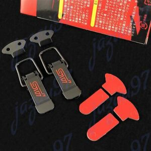 1 SET JDM STI Quick Release Fasteners for Car Bumpers Trunk Fender Hatch Lids
