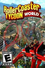 RollerCoaster Tycoon World (PC Games) - FREE SHIPPING