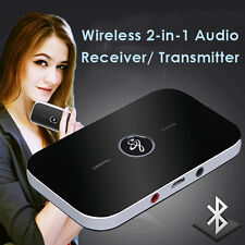 Bluetooth Wireless NFC Stereo A2DP Adapter Audio Receiver Transmitter AUX Player