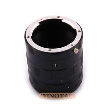 Macro Extension Tube set for Olympus OM 4/3 E-5 E3 E-620 E-520 E-510 E-500 E-330