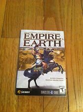 Empire Earth Video Game 144 page Strategy Guide Book Sierra Rick Goodman Teen T
