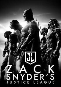 **LOOK** Zack Snyder's Justice League (2021) Collectible on BD *NEW*