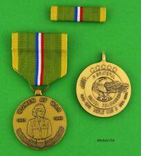 WOMEN AT WAR - WWII Commemorative Medal & Ribbon - WW2 Veteran Gift WAC
