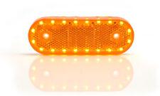 LED Blinker + Seitenmarkierungsleuchte + Rückstrahler Gelb 3in1 12/24V 975