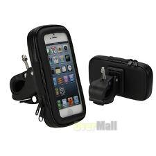 Waterproof Motorcycle Bike Bicycle Handlebar Mount Holder Case For CellPhone GPS