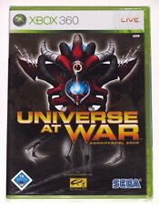 XBOX 360 - UNIVERSE AT WAR! BRAND NEW/SEALED! GERMANY VER.