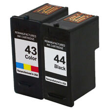 2 Ink Cartridges for Lexmark 43 & 44 X6570 X6575 X7550 X7675 X9350 X9575