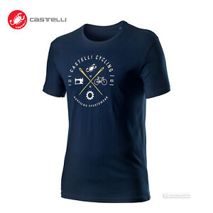 Castelli Cycling SARTO TEE Casual T-Shirt : DARK INFINITY BLUE