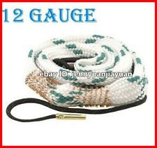 New Bore Snake Cleaning 12 GA Gauge Caliber Boresnake Shotgun Barrel Cleaner Kit