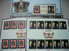 Malaysia 2012 DIAMOND JUBILEE OF QUEEN ELIZABETH II PRINCE WILLIAM STAMPS