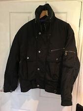 Ski Jacket Rodeo C&A Black Vintage Retro  XL