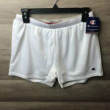 Champion Mens Size Small White Elastic Waist Classic Mesh Short NEW
