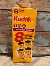 8 Rolls NOS Kodak Gold 35mm Film 24 Exposures Per Roll Sealed Expired Photo Pic