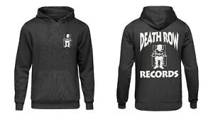 Death Row Records Electric Chair Hip Hop Hoody Black
