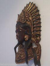 statuette en bois indonésie