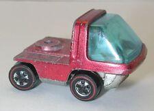 Redline Hotwheels Red White Interior The Heavyweights Cab oc8000