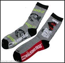 Walking Dead Zombie Women's Crew Cut Socks -  2 Pair - Geeks / I Heart WD