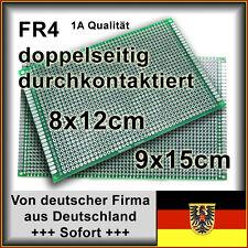 5 Stk. Lochraster Platine Leiterplatte PCB Experimentierplatine 9x15cm FR4