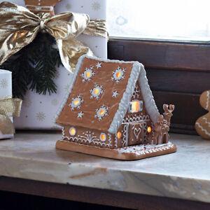 VILLEROY & BOCH Winter Bakery Decoration Lebkuchenhaus Weihnachtsdeko XMAS 15 cm