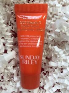 SUNDAY RILEY C.E.O./CEO Brightening Serum .17oz/5mL Travel Size - NEW, FREE SHIP