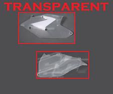 POLISPORT TABLAS PUERTO NÚMEROS LATERAL CLARO TRANSPARENTE KTM 500 EXC 2017-18