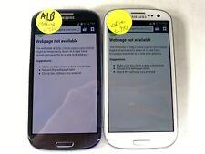 Lot of 2 Samsung Galaxy S3 L710 C Spire *Check IMEI*