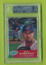 2001 E-Topps - C.C. Sabathia (#78)    Cleveland Indians  BGS 9