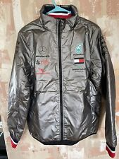 Brand New Official F1 Mercedes Benz Petronas AMG Padded Jacket Silver