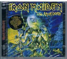 IRON MAIDEN LIVE AFTER DEATH  2 CD  SIGILLATO!!!
