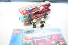 Lego 7208 City Fire Station Fire Truck ONLY with instruction manual