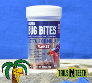 Fluval Bug Bites Betta Formula 18g ~ Insect Larvae High Protein Diet