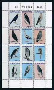 [SU2103] Suriname 2015 Birds vögel oiseaux Miniature sheet MNH