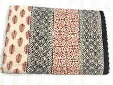 Wholesale Handmade Kantha Quilt Bedspread Throw Cotton Blanket Gudari Queen