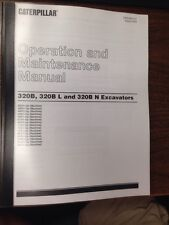 Cat Caterpillar 320b 320bl 320bn Excavator Operators Manual Book Sebu6975 07